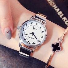 GIMTO бренд Для женщин часы Нержавеющаясталь роскошный браслет женские часы любители женский платье для девочек Наручные часы Relogio Montre