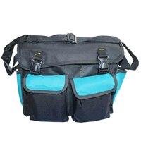 Urijk Multi Function Electrical Maintenance Kit Canvas Tools Bag 600D Oxford Shoulder Bag Hardware Storage Tools