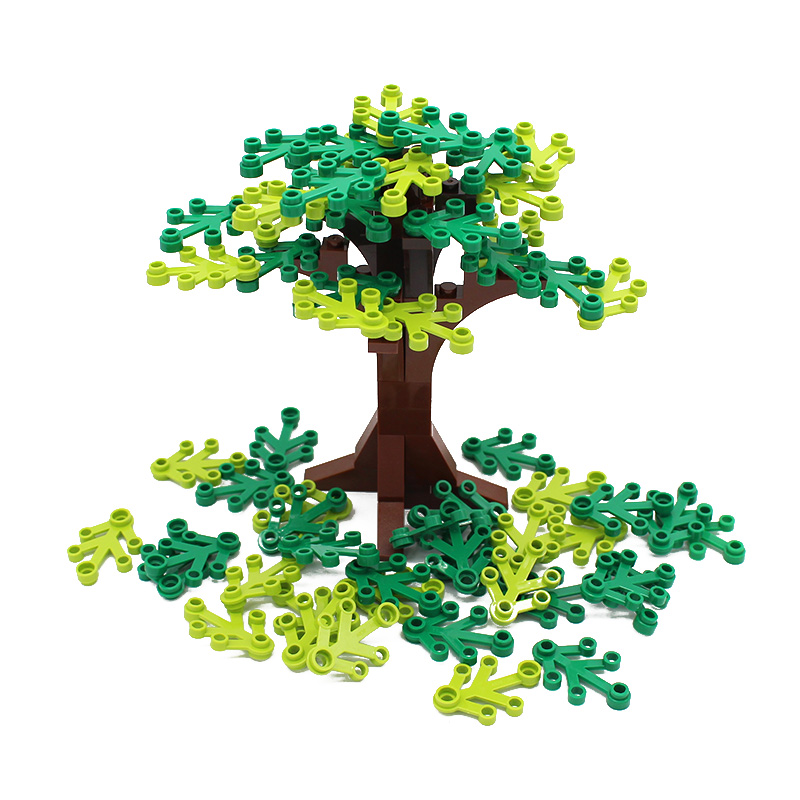 Free Shipping! Moc DIY Garden Tree Courtyard Enlighten Building Block Bricks Compatible with Assembles Particles free shipping plate 1x2 w 1 knob diy enlighten block bricks compatible with assembles particles