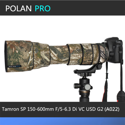 Camera Lens Coat Camouflage The new Tamron SP 150 600mm G2 A022 Lens Camo Protection Cover