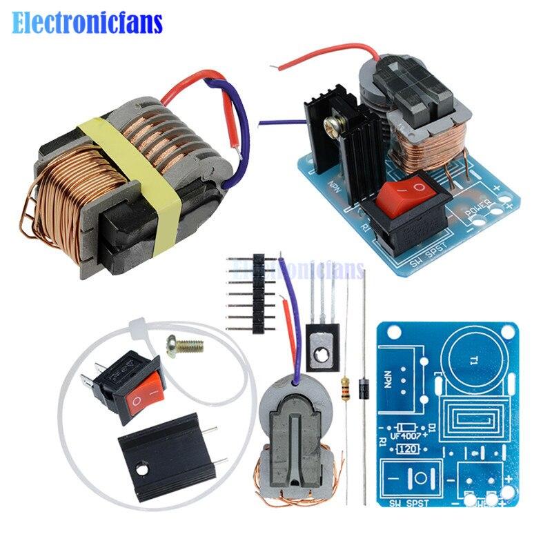 15KV transformator wysokiej częstotliwości DC wysokiego napięcia łuku zapłonu falownik agregatu moduł cewki zwiększenia zwiększona moc moduł DIY Kit