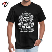 Classic Black T-shirt Men Cotton Tshirt Birthday Gift Novelty Skull T Shirts As A Aries I Hold Beast An Angel Mad Man In Me