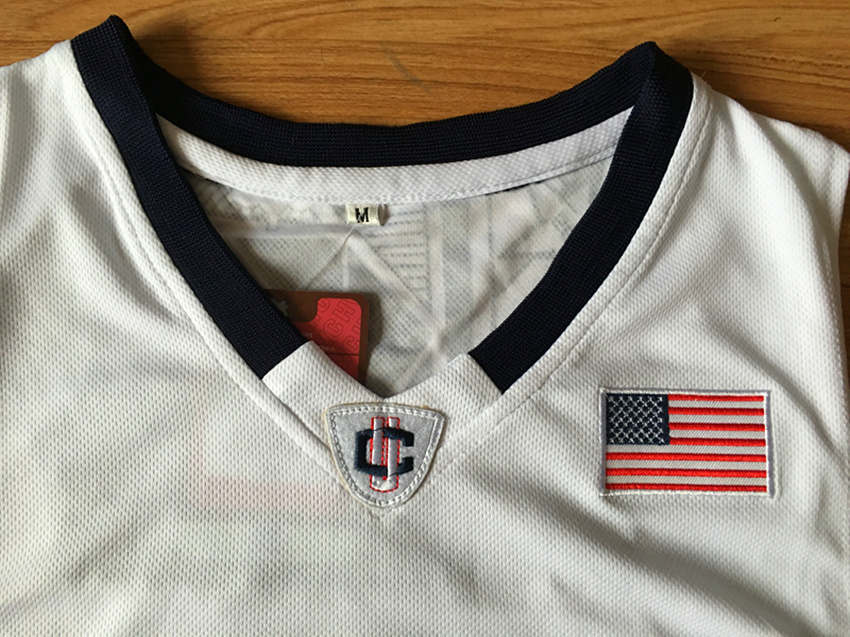 Kemba Walker Uconn Jersey 15 Uconn Huskies Basketball Jersey College Mens Commemorative Sport Shirt All stitched
