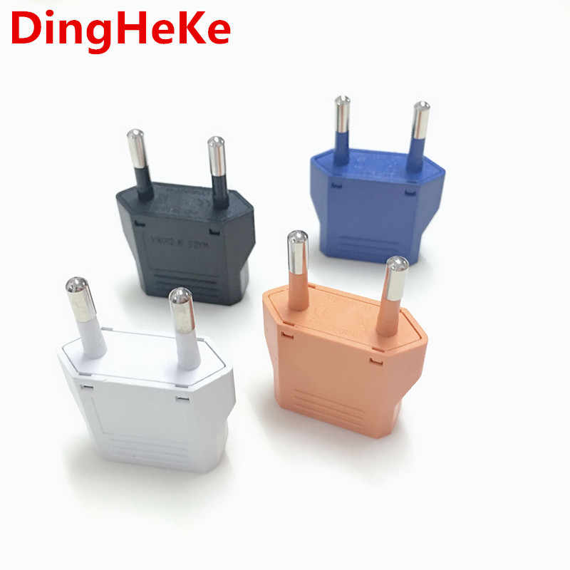 EU Europese Plug Adapter Amerikaanse Japan Ons EU Euro Type C Travel Adapter Elektrische Plug AC Power Charger Sockets outlet