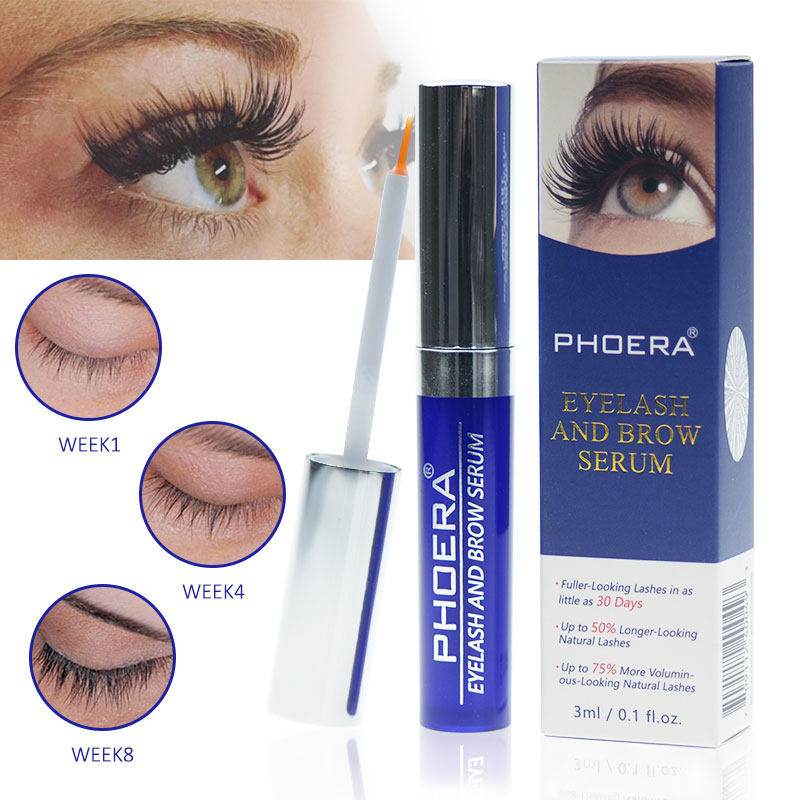 76af0a65dc3 PHOERA Eyelash Growth Serum Eye Lash Enhancer Treatment Eyebrows Lengthing  Thicker Eyelashs Extension Mascara Tools Eye
