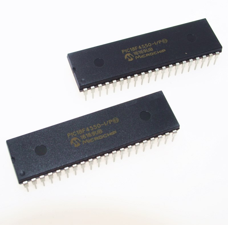 PIC18F4550-I/P PIC18F4550 18F4550 USB Microcontrollers DIP40 IC PIC MCU FLASH 16KX16 NEW 1PCS