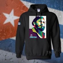 Fidel Castro President of Cuba hoodie men sweatshirt polo sweat suit hip hop streetwear tracksuit fleece 2017 casual souvenir 02
