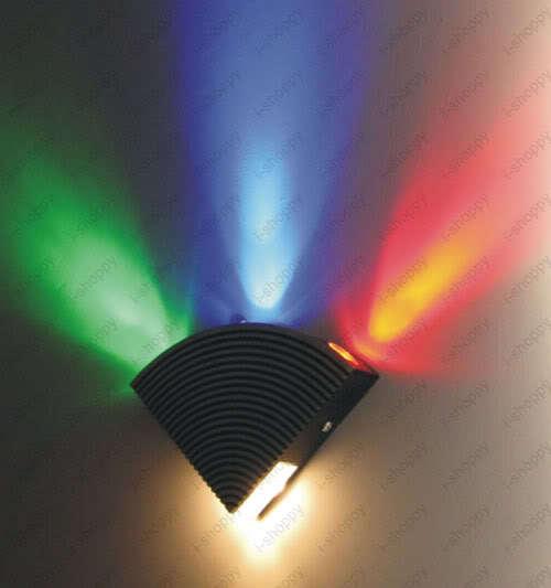 4W Dimmable LED Wall Mount Fixture Light House Shop KTV