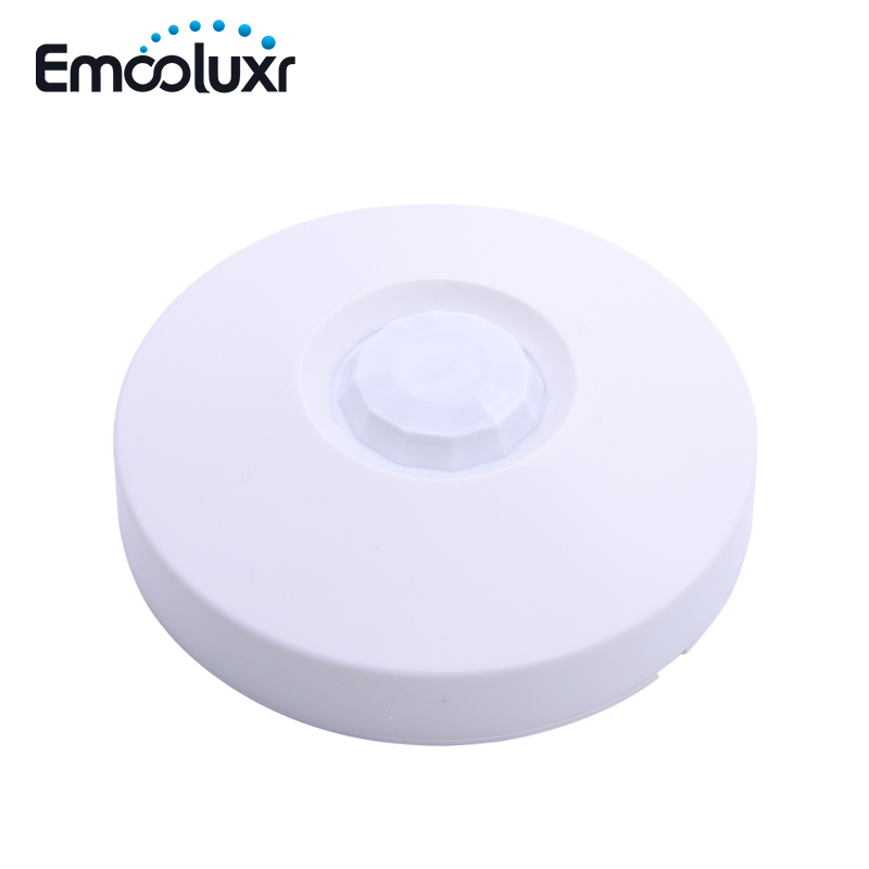 Indoor Ceiling PIR Sensor Wired PIR Detector Anti-burglar Theft 360 Degree Detection Ceiling Motion Sensor for Alarm System indoor 360 degree ceiling pir motion detector infrared sensor light switch nc no output options pir alarm intruder from douwin