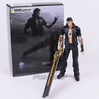 PLAY ARTS KAI Final Fantasy XV Gladiolus Amicitia PVC Action Figure Collectible Model Toy
