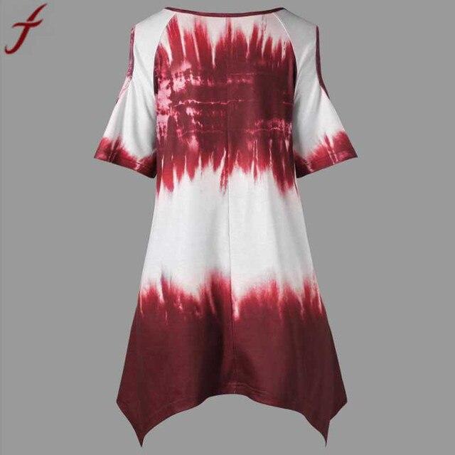 Summer Fashion Large Size Women Printing Blouse And Shirt  Plus Size O-Neck Short Sleeve Tunic Shirt  Casual Lady Big Size Tops# 1