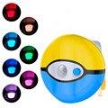 8 cores led toalete noturna motion ativado escuridão iluminação sensível aaa battery-operated lâmpada dente