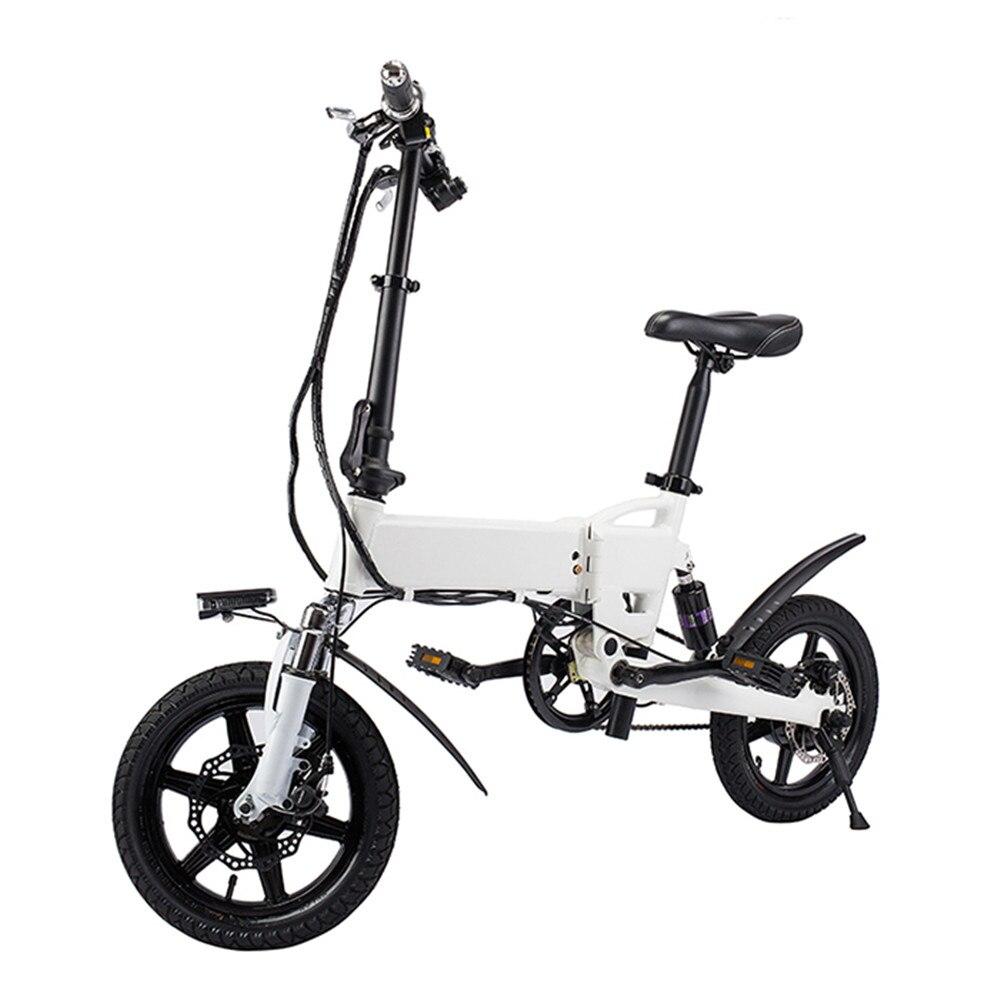Бесплатная доставка умный велосипед электрический складной мопед велосипед 250 Вт 5.2Ah батарея/ЕС Plug/с двойной дисковые тормоза