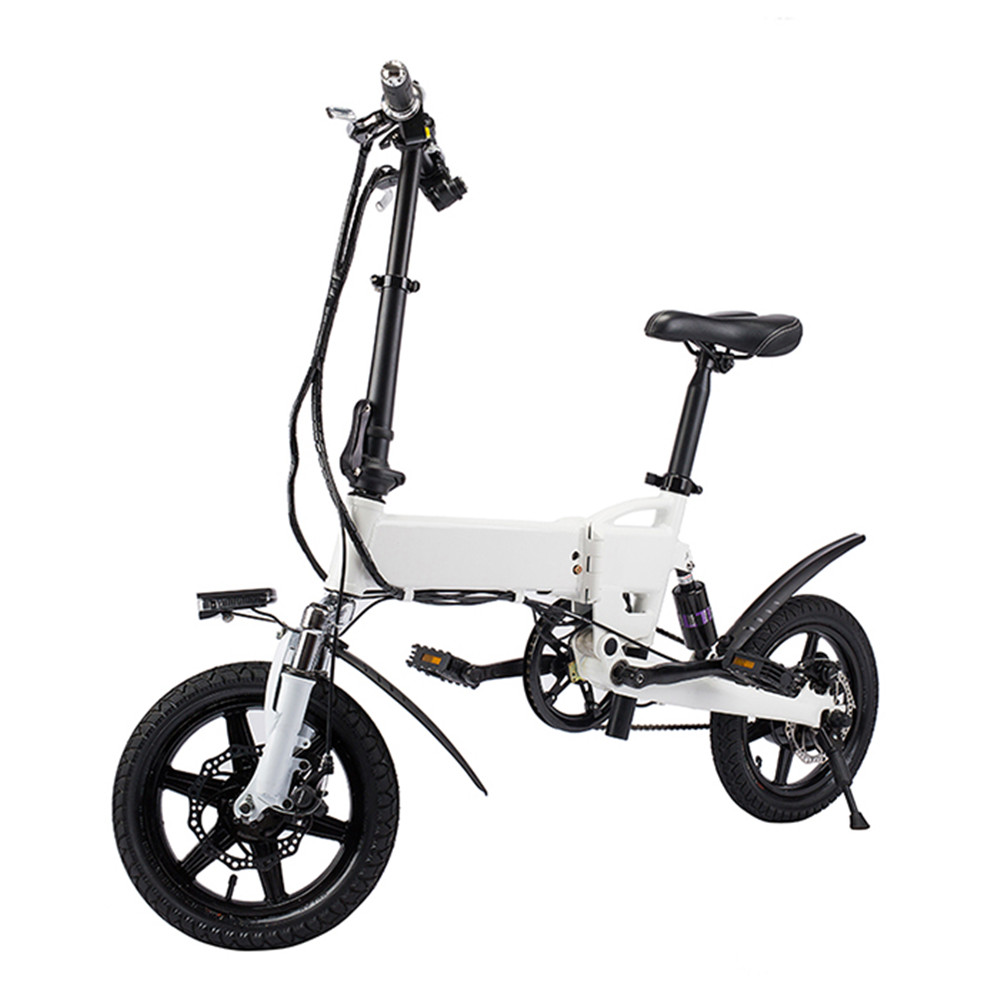 Free Shipping Smart Bike Electric Bicycle Foldable Moped Bicycle 250W 5.2Ah Battery / EU Plug / with Double Disc Brakes battery car brakes