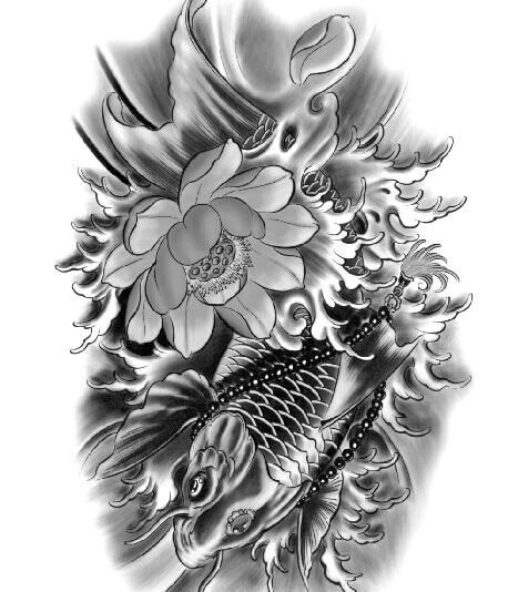 Tattoo stickersbrocade carp tattoo pastebeadslotus flower tattoo tattoo stickersbrocade carp tattoo pastebeadslotus flower tattooclassic black and whitetraditional arm tattoo in body paint from beauty health on mightylinksfo