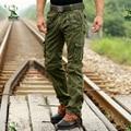 Pantalones de camuflaje militar pantalones hombres pantalones ee. uu. army tactical camo pantalones cargo para hombre pantalones cargo holgados