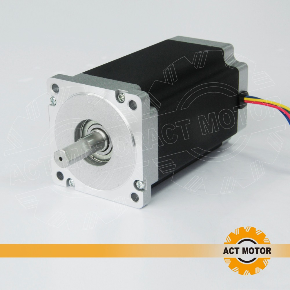 Free ship from Germany!ACT 1PC Nema34 Stepper Motor 34HS5460 1700oz-in 151mm 6A High Current&Low Inductance Engraving CNC ROUTER