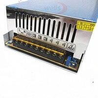 720W 12V 60A Power Supply for LED Strip Light displa AC DC 110V~240V 220V TO 12V Lighting Transformer LED Driver Adapter