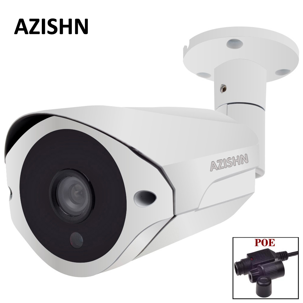 NEW 48V PoE IP Camera 720P/960P/1080P ONVIF Metal IP66 36IR LEDS CCTV Camera Outdoor Waterproof POE Camera IP Surveillance wistino xmeye bullet ip camera outdoor metal waterproof surveillance security cctv camera monitor onvif hd 720p 960p 1080p