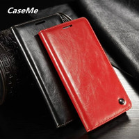 Luxury Genuine Leather Phone Case Cover For Samsung GALAXY S4 Mini SIV Mini I9190 Flip Stand
