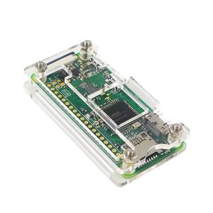 Raspberry Pi Null W Starter Kit + Acryl Fall + GPIO Header + Kühlkörper 1GHz CPU 512Mb RAM RPI W