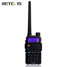 Hot Sale Retevis RT-5R Walkie Talkie 5W Dual Band VHF/UHF Ham Two Way Radio CTCSS/DCS Portable Amateur Radio Transceiver RU