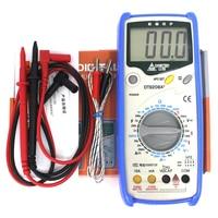 LCD Display Professional Handheld Voltmeter Ammeter Ohmmeter Capacitance Meter Temperature Tester Digital Multimeter