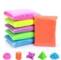 DoDoLu 2 100g Dynamic Sand 6Colors Polymer Clay Amazing Diy Plasticin Magic Play Sands Mars Space