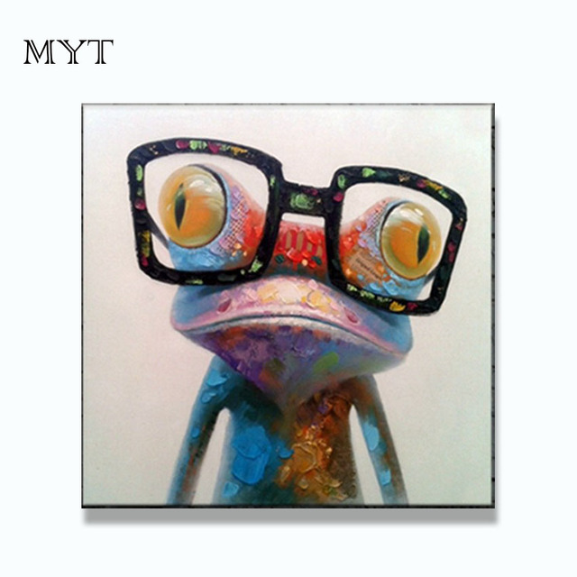 Aliexpresscom Buy Free Shipping Colorful Sytle Cartoon Picture Abstract Animal Wall Art For