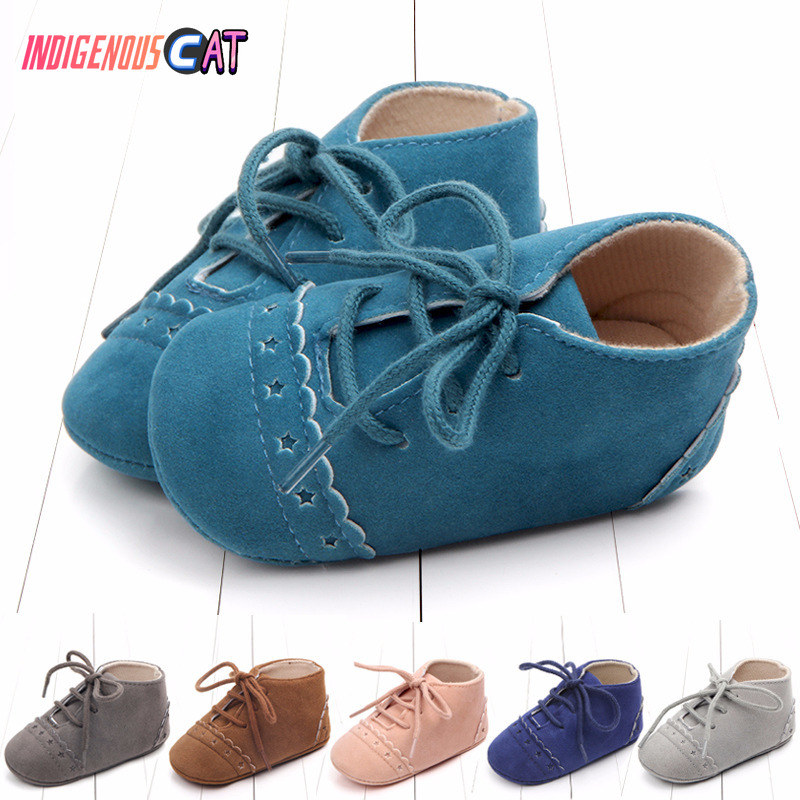 Bottom-Shoes First-Walking-Shoes Shoe-0-18 Baby Indoor New Soft Study Individual-Month