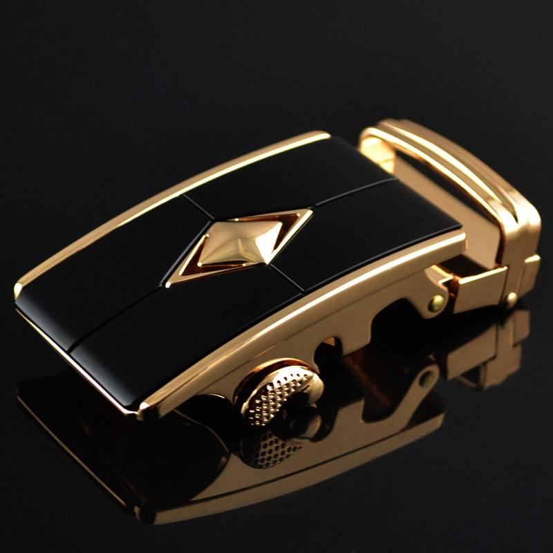 Men's Belt Buckle Automatic Buckle Wholesale New Leisure Boutique Leather Belt Lead Buckle LY1749 Belt Accessories For Men