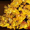 LUCKY Fortune Wealth Chinese Golden Crystal Lucky Money Fortune Tree Home Office Decoration Best Gifts Tabletop Ornament Crafts 4