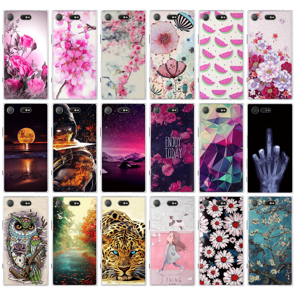 for Sony Xperia X Compact Case Cover For SONY Xperia X F5121 Dual F5122 Case Soft TPU Cover for Sony Xperia X Performance Case