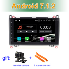9″ 2 GB RAM Android 7.1 Car DVD GPS Radio for Mercedes/Benz Sprinter W209 W169 W169 W245 B200 Viano Vito VW Crafter