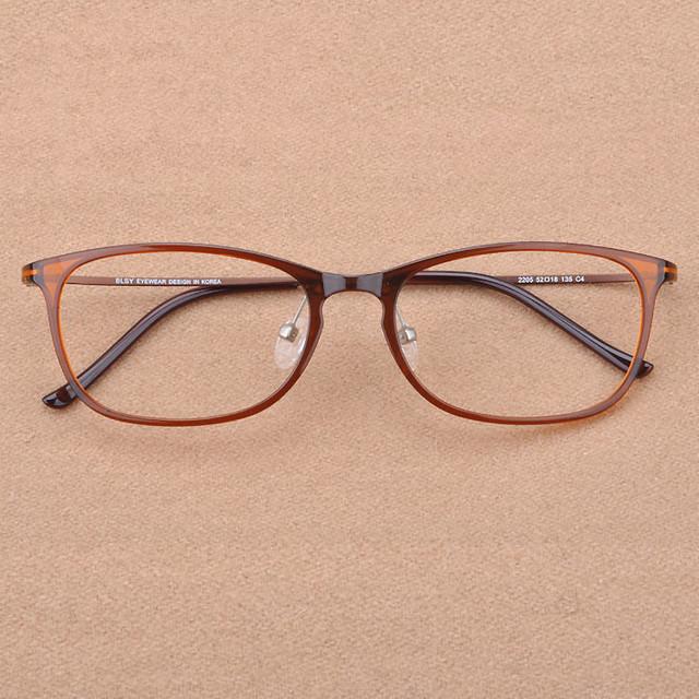 2016 Japão Marca dos homens Quentes da Moda de Tungstênio Do Vintage Miopia Óculos Ópticos Óculos de Armação Mulheres Elegante Praça de Aço Carbono