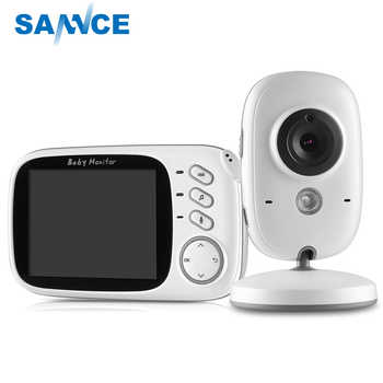 SANNCE Home Security Baby Monitor 3.2inch Displayer Night Vision Camera Wireless Mini Camera Surveillance Night Vision Camera - DISCOUNT ITEM  46 OFF Security & Protection