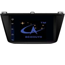 BEIDOUYH Android Car Stereo GPS Navigation for Volkswagen Tiguan 2016 2017 Support WiFi Bluetooth RDS Radio Can-bus OBD2 USB SD