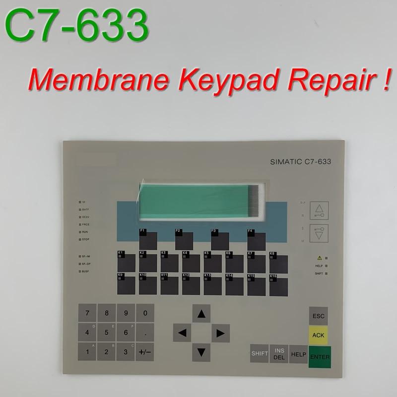 6ES7633 1AA01 8EA0 C7 633 Membrane Keypad for SIMATIC HMI Panel repair do it yourself Have