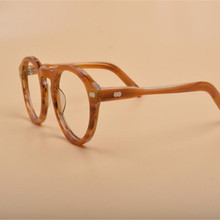 Бренд Дизайн унисекс Мода полный обод ацетат Ретро прозрачные линзы оптические очки рамки близорукость, Leoaprd