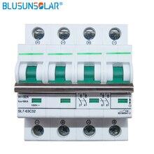 20 шт./лот высокое качество 4 P в 32A/для палаты интенсивного лечения 6KA DC800V переменного тока выключатель солнечной энергии фотоэлектрических(pv) работающий на постоянном токе от солнечных батарей автомат защити цепи