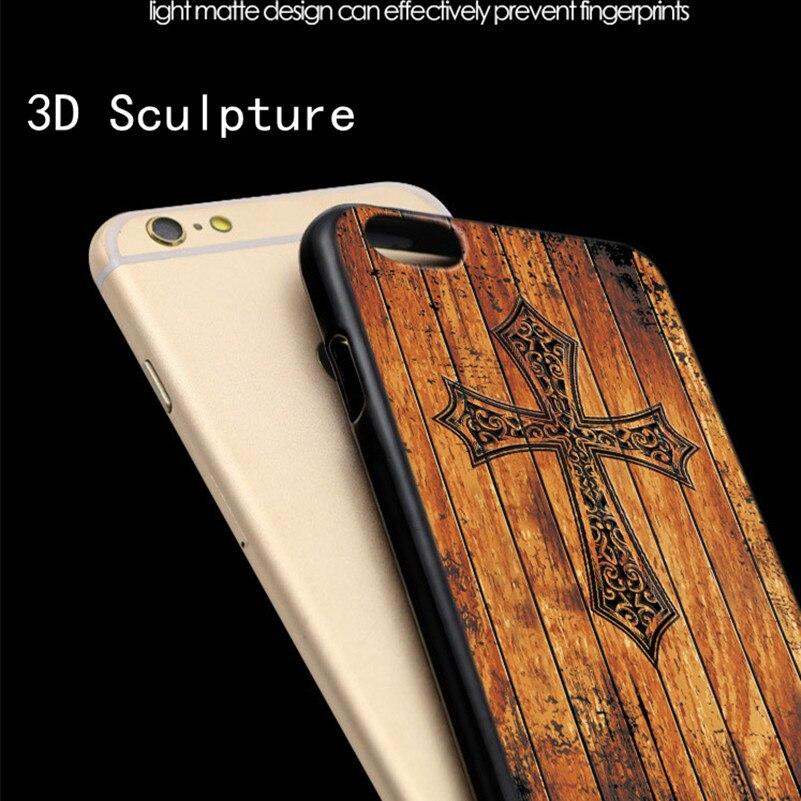 Mewah imitasi tinggi bambu kayu kasus telepon untuk iphone 5 5 s 6 6 - Aksesori dan suku cadang ponsel - Foto 5