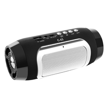 купить Portable Wireless bluetooth Speaker Stereo Soundbar TF FM Radio Music Subwoofer Column BT Speakers for Computer Phones дешево