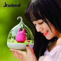Jiaderui Novelty Cute LED Baby Night Lights USB The Totoro Portable Touch Sensor Children Bedside Lamps Christmas Holiday Gifts