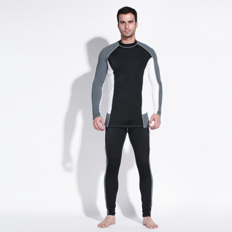 3MM Man Spearfishing Wetsuit With Neoprene Scuba Diving Jumpsuit Swimming Clothes Equipment