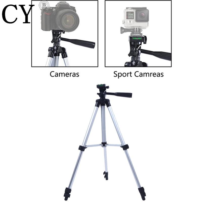 "Aliuminio lydinio fotoaparato trikojis ""Gopro Fuji Canon"" Sony Nikon lengvas mini trikojo fotoaparato stovas Foto trikojis Gorillapod Tripe"