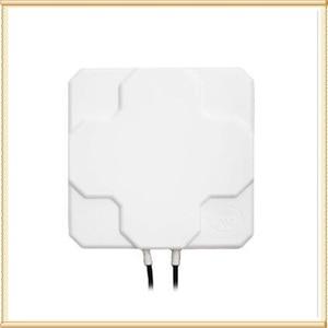 Image 3 - 외부 실외 4G LTE MIMO 안테나, LTE 이중 편광 패널 안테나 SMA 수 커넥터 (흰색 또는 검정색) 10 M 케이블