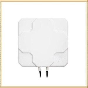 Image 3 - חיצוני חיצוני 4G LTE MIMO אנטנה, LTE קיטוב כפול פנל אנטנת SMA זכר מחבר (לבן או שחור) 10 M כבל