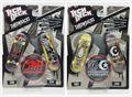 "2pcs NEW Fingerboard Tech Decks throwbacks 96mm mini Skateboard Original package ""BLACK LABEL"" boys toy E28C"