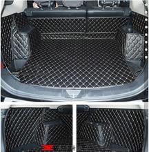 Хорошая и! Особое магистральных коврики для mitsubish Outlander 5 мест прочный водонепроницаемый автомобиль ковры для Outlander