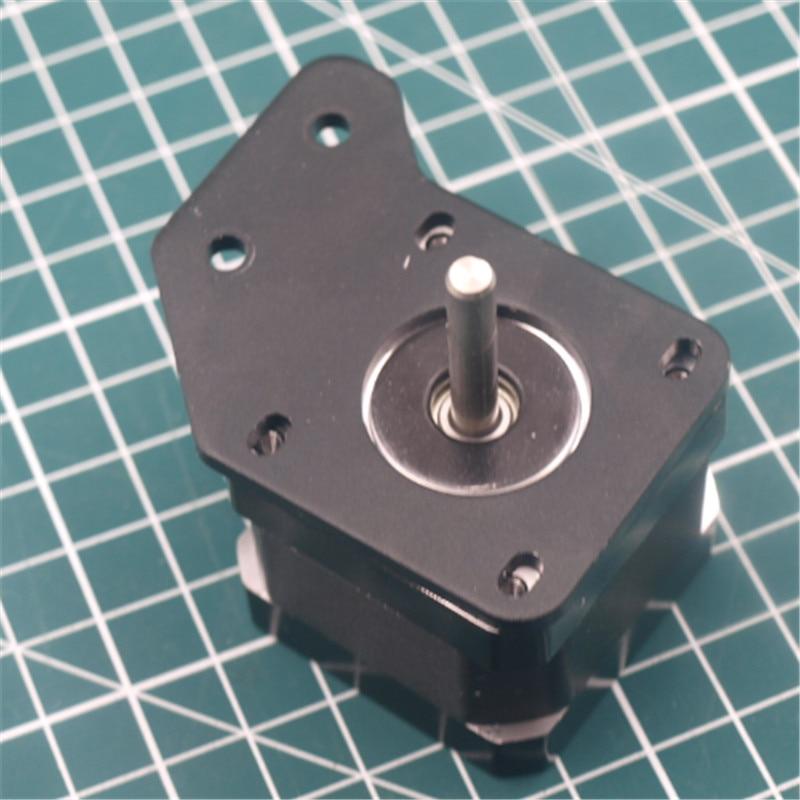 1pcs Aluminum Y NEMA17 Stepper Motor Plate For Ender 3S 3D Printer Apply In 2040 V-slot Extrusion